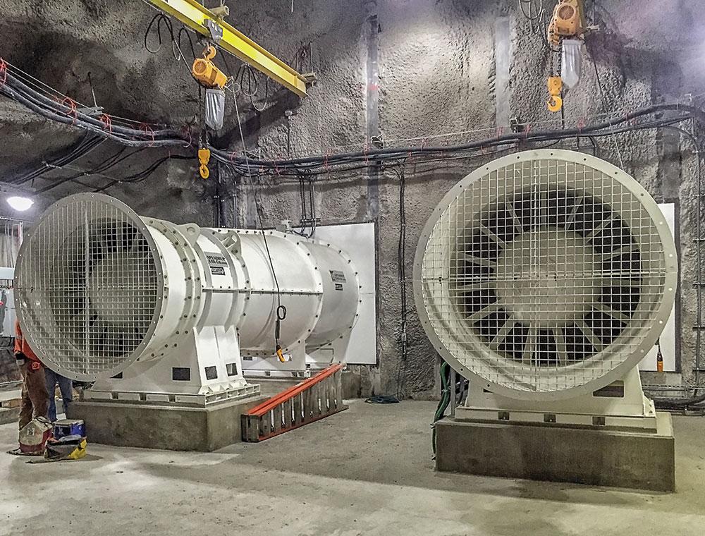 Vein Axial Mining Fans
