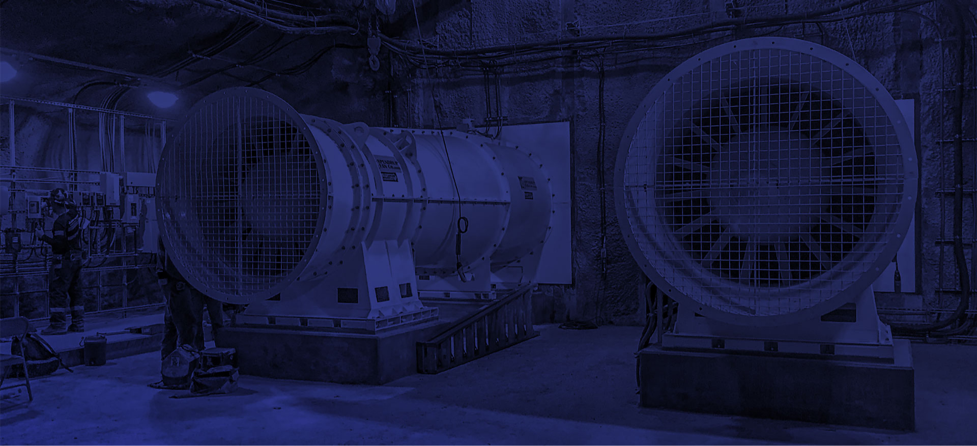 custom industrial fans for mining