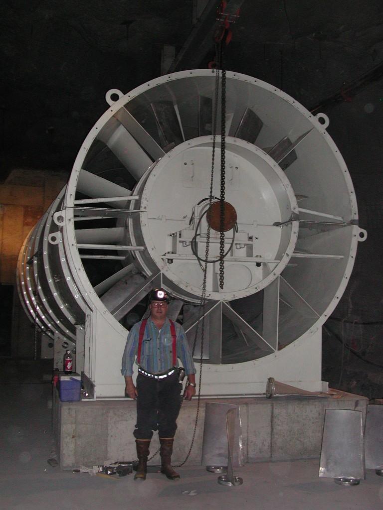 Fan Model:Fan,335-200-900-A-1-S,2000hp, 11ft Diameter